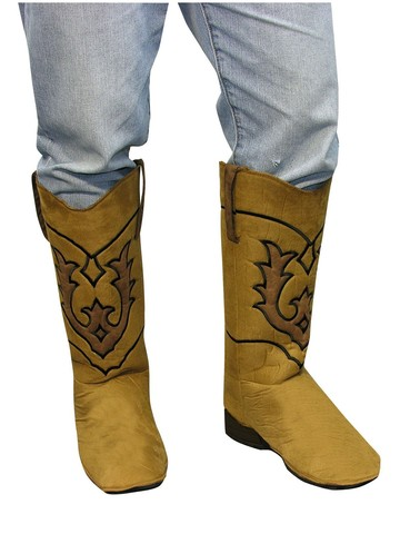 Cowboy Brown Boot Tops