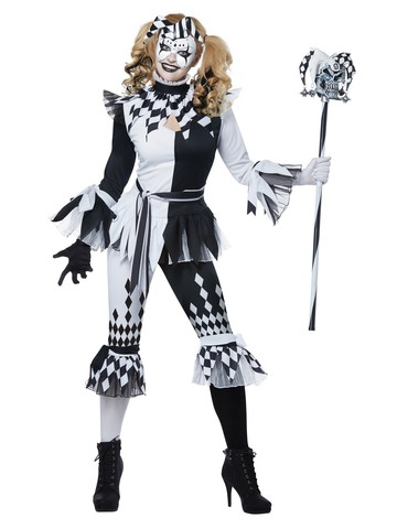 Crazy Jester Deluxe Womens Costume