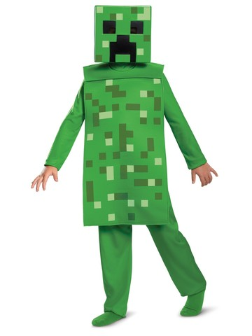 Creeper Classic Jumpsuit Costume for Kids