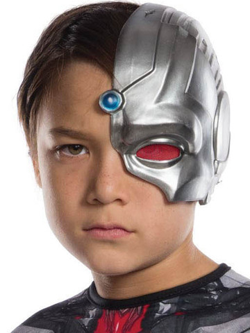 Kids Accessory Mask - 1/2 Cyborg