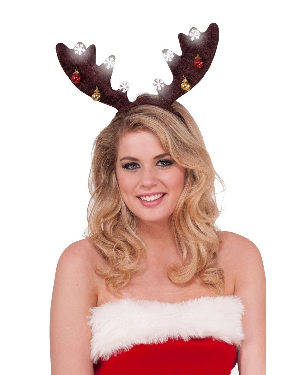 View larger image of Dark Brown Light Up Accessory Antlers