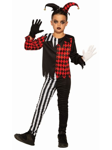 Dark Jester Child Costume