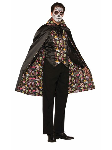 Day of the Dead Cape Accessory
