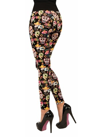 Day of the Dead Womens Leggings