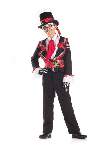 Day of the Dead Senor Costume for Kids