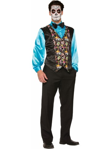 Day of the Dead Costume Vest