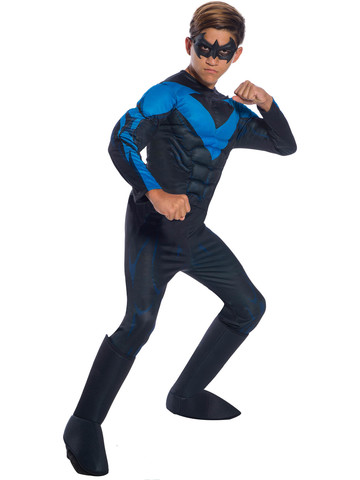 Boys Deluxe DC Comics Nightwing Costume
