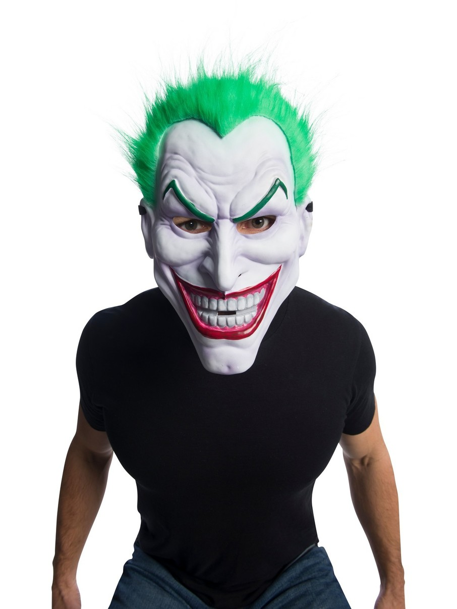 View larger image of DC Comics: Joker Clown Mask With Hair Accessory