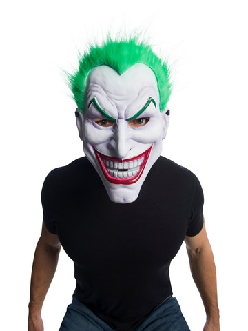 DC Comics: Joker Clown Mask With Hair Accessory