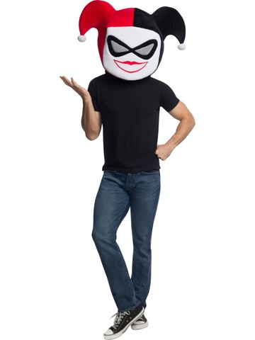DC Comics Super Villains Adult Harley Quinn Mask