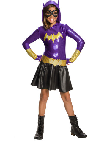 DC Super Hero Girls Kids Batgirl Hoodie Dress