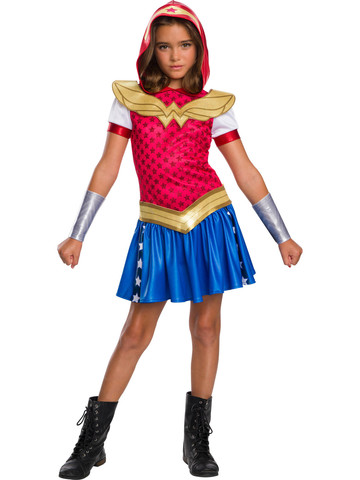 Wonder Woman DC Super Hero Girls Hoodie Dress