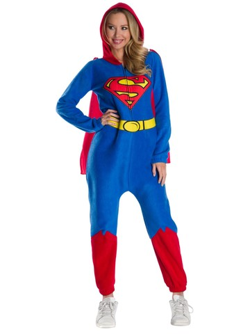 DC Super Heroes Womens Superman Onesie