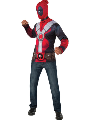 Adult Deadpool Costume Top