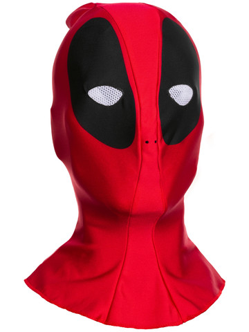 Deadpool Adult Fabric Overhead Mask