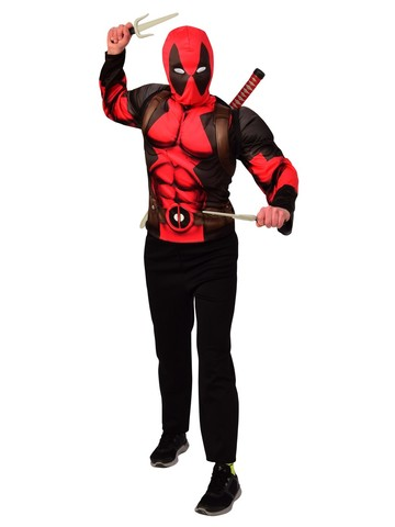 Deadpool Weapon Backpack Kit and Costume Top