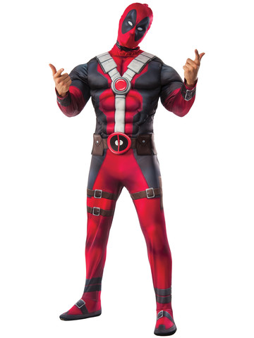 Deadpool Deluxe Costume Adult
