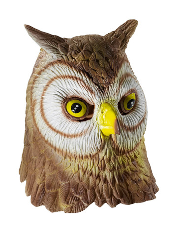 Adult Owl Mask Deluxe