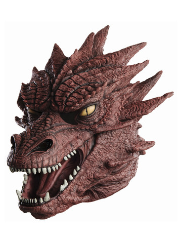 Deluxe Adult Smaug Mask The Hobbit