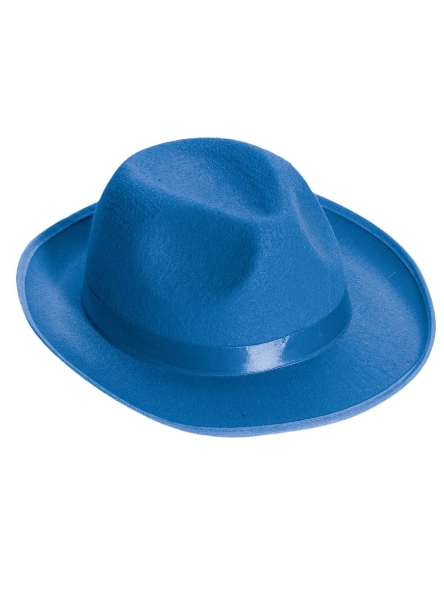 View larger image of Deluxe Blue Fedora