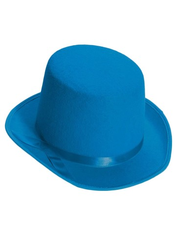 Deluxe Blue Top Hat