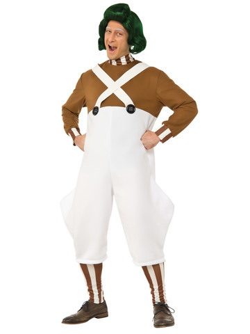 Deluxe Charlie and the Chocolate Factory Oompa Loompa Adult Costume