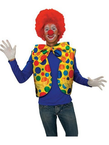 Colorful Clown Vest