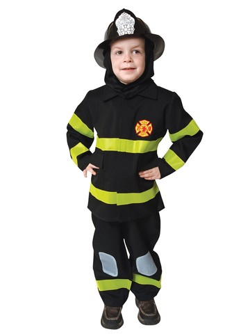 Deluxe Fire Fighter Set Costume