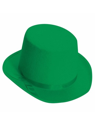 Deluxe Green Top Hat