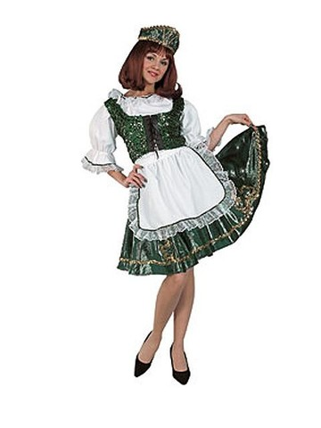 Deluxe Irish Dancer Adult Costume