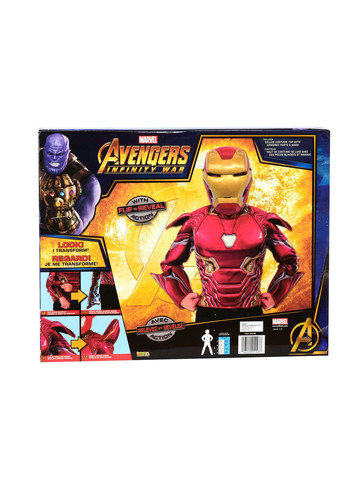 Deluxe Flip N' Reveal Iron Man Dress Up Set Costume