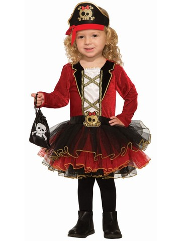 Deluxe Classic Pirate Girl Costume