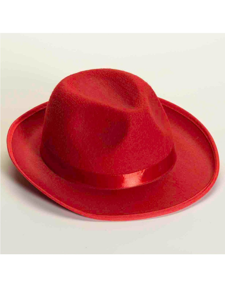 View larger image of Deluxe Red Fedora