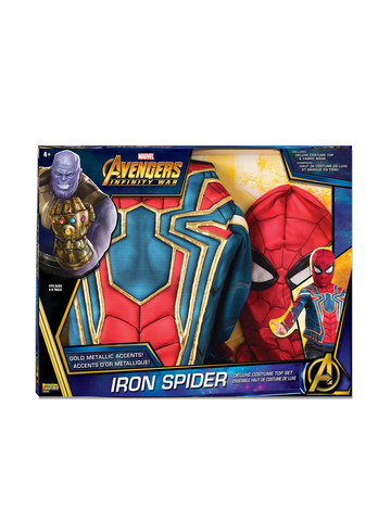 Deluxe Spider-Man Top Set Costume