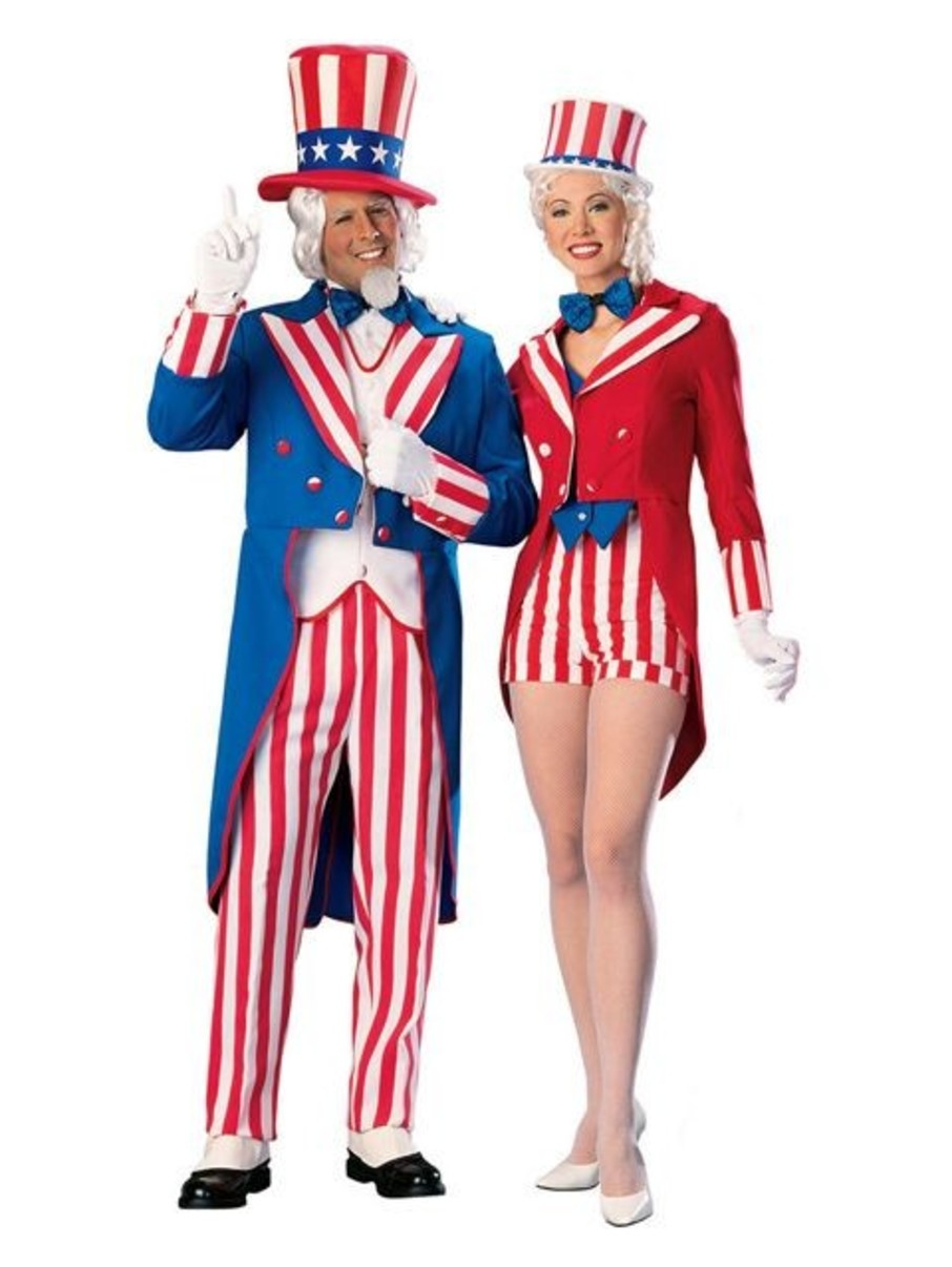 View larger image of Deluxe Uncle Sam Adult