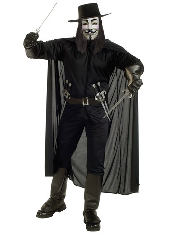 Deluxe V for Vendetta Costume