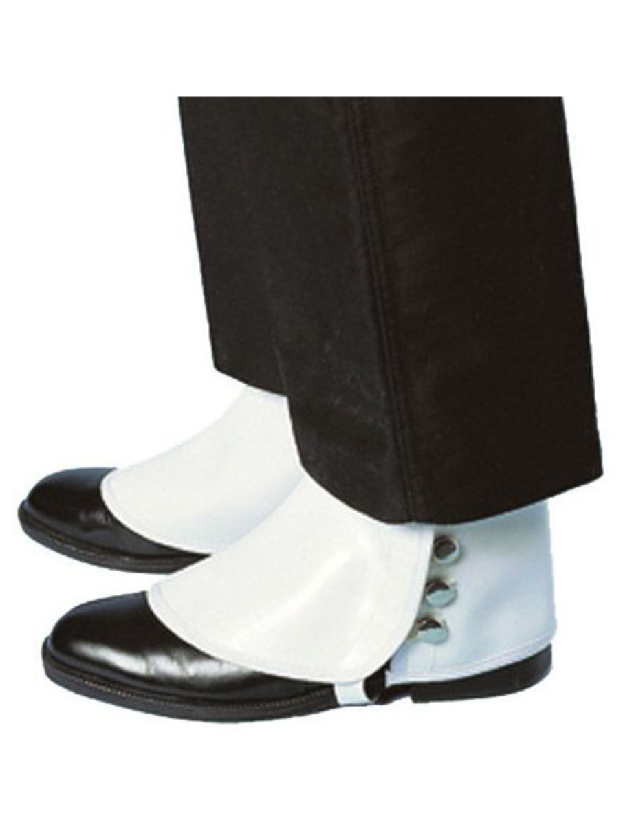 View larger image of Deluxe Vinyl Spats Adult/shoes