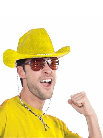 Deluxe Yellow Cowboy Hat