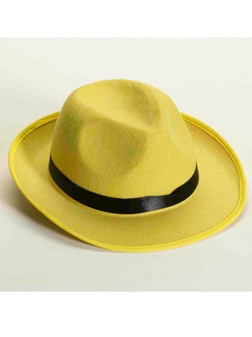 Deluxe Yellow Fedora