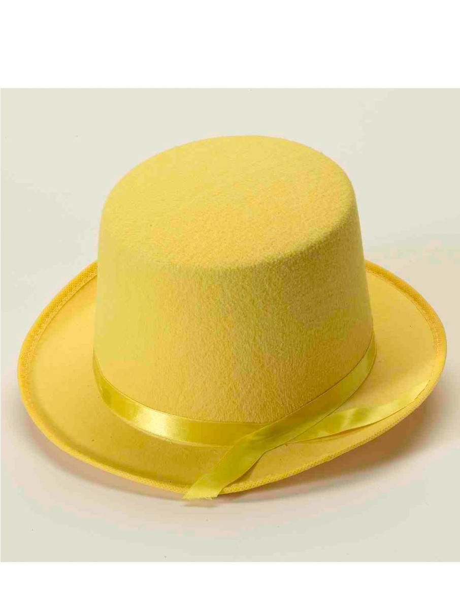 View larger image of Deluxe Yellow Top Hat