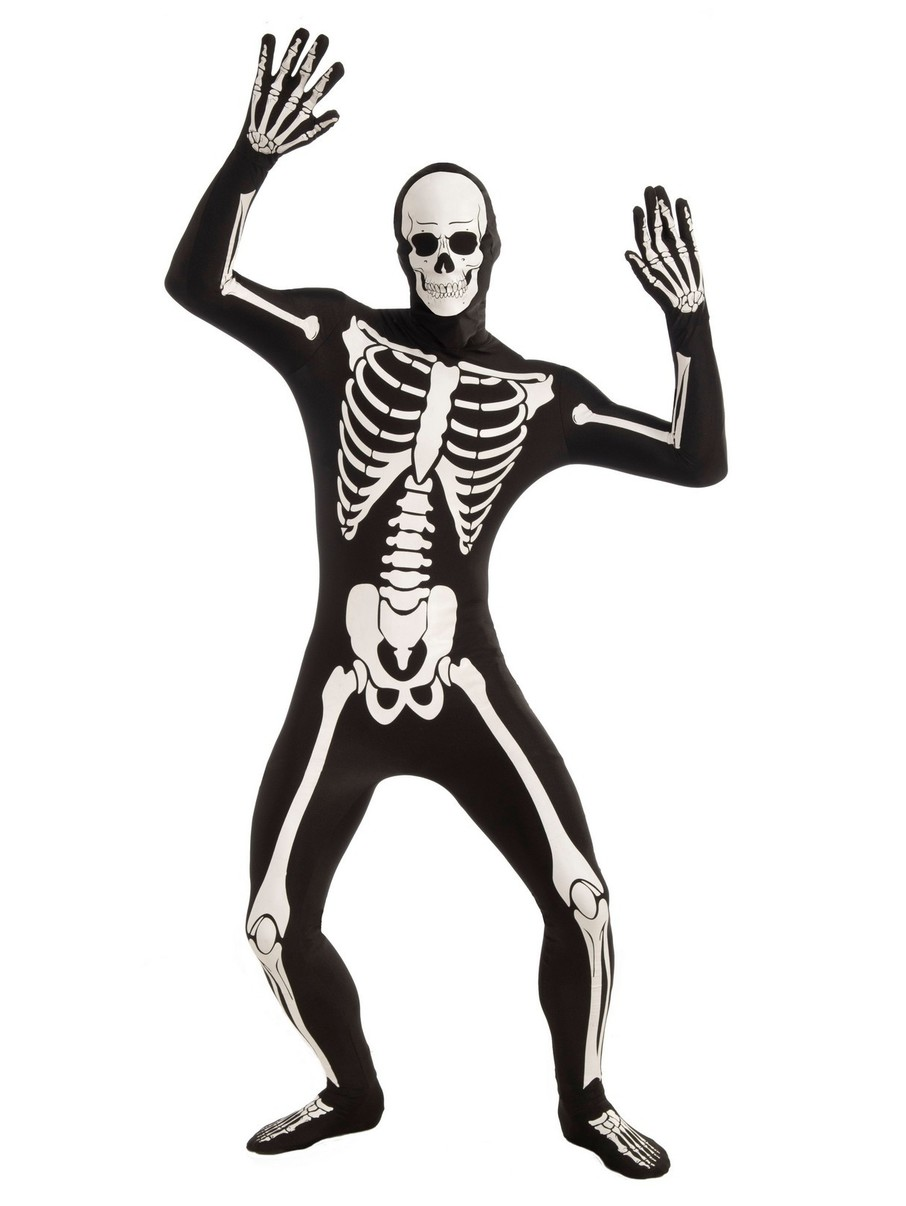 View larger image of Disappearing Man Skeleton Adult Costume