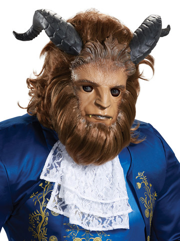 Adult Disney Beauty and the Beast - Beast Ultra Prestige Mask