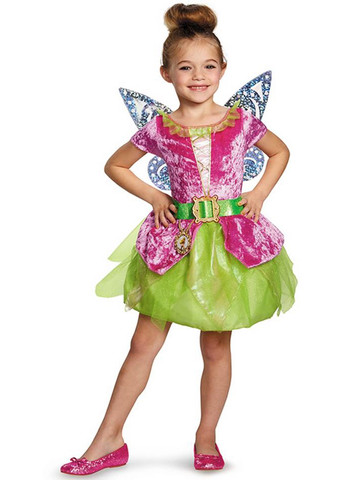 Disney Fairies Pirate Tink Classic Girls Costume