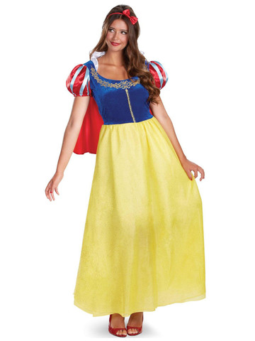 Disney Princess Womens Snow White Deluxe Costume
