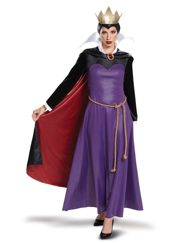 Disney Villians: Evil Queen Deluxe Womens Costume