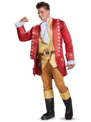 Adult Disney's Beauty and the Beast Live Action Gaston Costume Deluxe