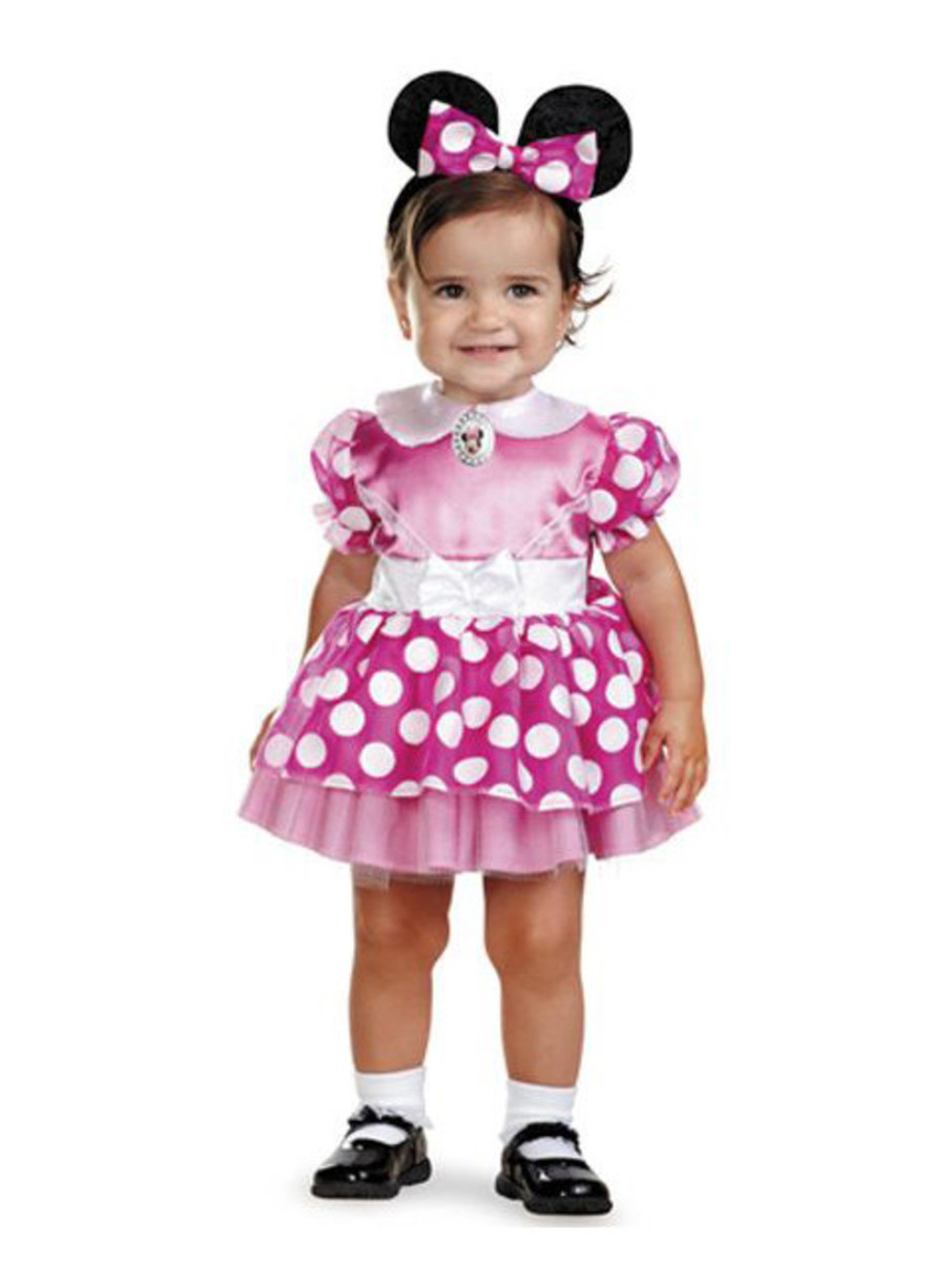 View larger image of Disney's Infant Pink Minnie Mouse Costume