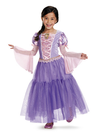 Disney's Tangled Rapunzel Girls Deluxe Costume