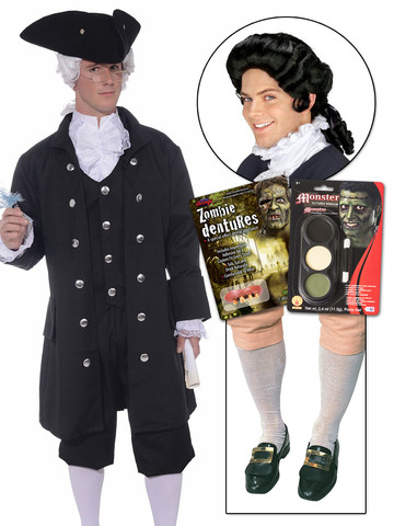 Colonial Hocus Pocus Zombie DIY Movie Character Kit