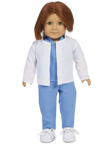"Doctor Child 18"" Doll Costume"